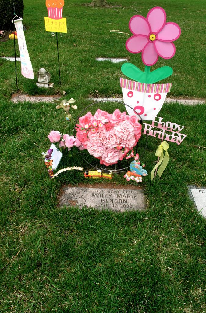 Molly's Grave 4-16-2013