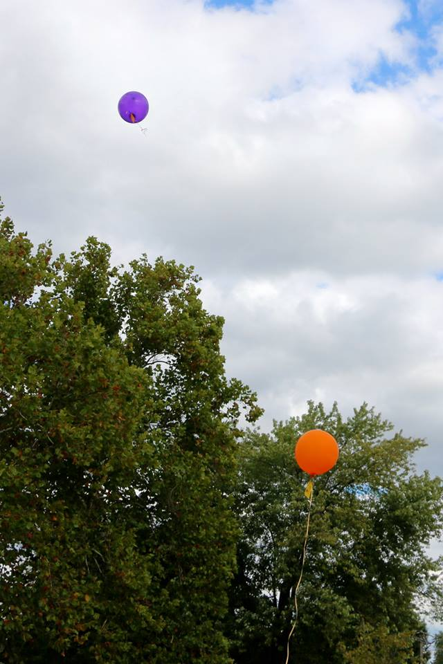 Our Balloons for Molly and Babies Benson