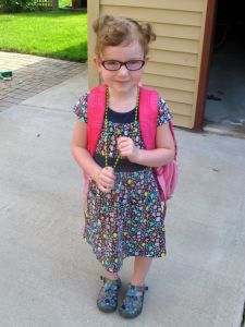 Abby's First Day of School