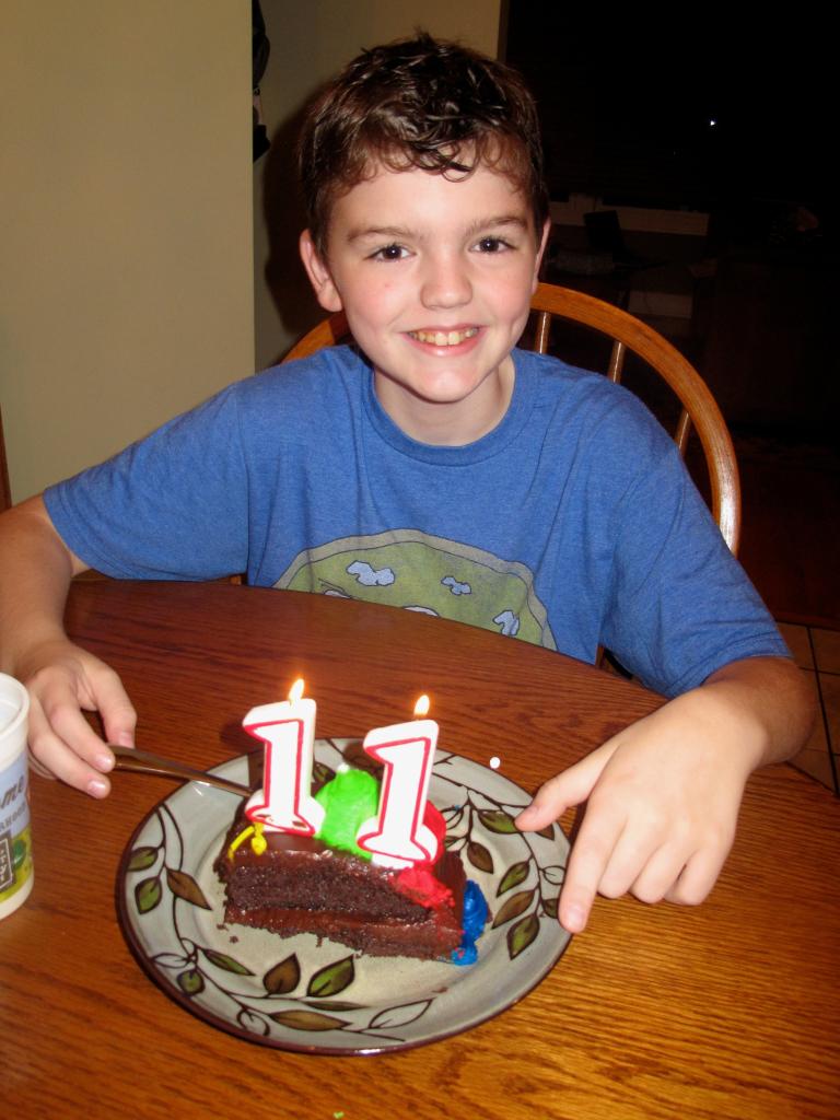 Sean is 11
